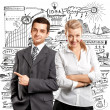 Business Woman and Man — Stock Photo #25248865