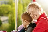 Woman And Boy Happy Family — Stock Photo