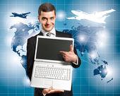 концептуальные бизнес фон — Стоковое фото