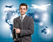 概念的なビジネスの背景 — ストック写真
