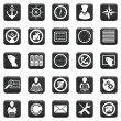Vector Set Of Icons — Stock Vector #30705805