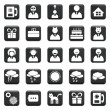 Vector Set Of Icons — Stock Vector #30705821