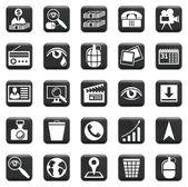 Vektor-reihe von icons — Stockvektor