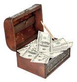 Dólares eua — Foto Stock