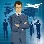 Vector Businessman — Stock Vector #34306755