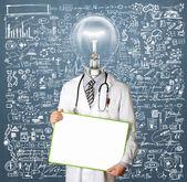 Lamp hoofd arts — Stok fotoğraf