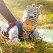 Baby Outdoors — Stock Photo #41492841