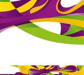 異なる色の抽象的な背景 — ストックベクタ
