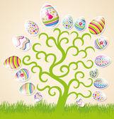 Vector Easter Card — Stock Vector