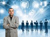 Businessman Employer — Stock Photo