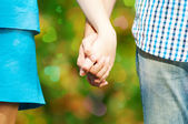 Concept shot of friendship and love — Stock Photo