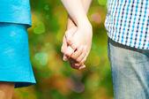 Foto de concepto de amistad y amor — Foto de Stock