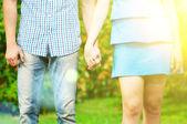 Colpo del concetto di amicizia e amore — Foto Stock