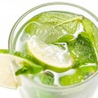Mojito cocktail on white — Foto Stock