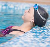 Plavkyně — Stock fotografie