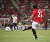 Fabio Da silva of Man Utd. — Stock Photo