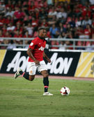 Patrice Evra of Man Utd. — Stock Photo