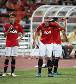 Phil Jones of Man Utd. — Stock Photo