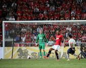 Rio Ferdinand of Man Utd. — Stock Photo