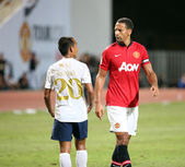 Rio Ferdinand of Man Utd. — Stockfoto
