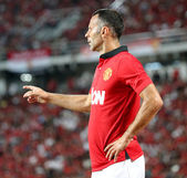 Ryan Giggs of Man Utd. — Stock Photo