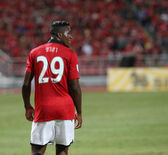 :Wilfried Zaha of Man Utd. — Stock Photo