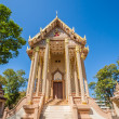 Stock Photo: Church in Wat PSutdhawas, sakon nakhon, thailand