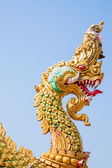 Naga head statue — Foto Stock