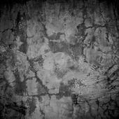 Grunge projetado estampada em textura de parede, plano de fundo — Foto Stock