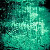 Projetado a textura da parede verde grunge estampada, plano de fundo — Foto Stock