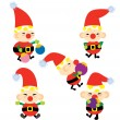Santa Helper — Stock Vector