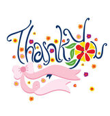 Thank You — Stock Vector