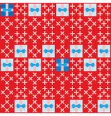 Birthday Present Seamless Pattern — Stock Vector