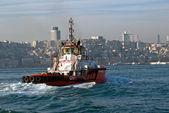 Istanbul Harbour Pilot Boat — Stock Photo