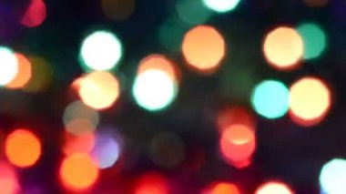 Abstract glowing multi color texture — Stock Video