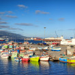 Azores, Sao Miguel yacht and fishing harbor — Stock Photo #49857513