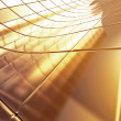 Golden 3d abstraction background — Stock Photo #6660577