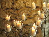 świece — Zdjęcie stockowe