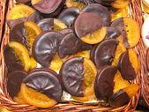 Candied orange — Stock Photo