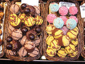 Sweet cupcakes — Stock Photo