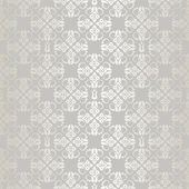 Seamless silver small floral elements wallpaper pattern — Stock Vector