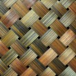Bamboo handcraft texture — Stock Photo