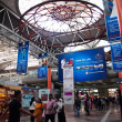 Inside of KL Sentral in Kuala Lumpur, Malaysia - Stock Photo