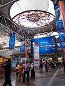 Inside of KL Sentral in Kuala Lumpur, Malaysia — Stock Photo