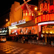 Stock Photo: Moulin Rouge at Paris in France