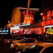 Stock Photo: Moulin Rouge famous cabaret and theater Paris , France