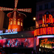Stock Photo: Moulin Rouge famous cabaret and theater, Paris , France