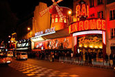 Moulin Rouge at Paris in France — Stock Photo