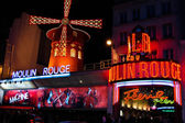 The Moulin Rouge famous cabaret and theater, Paris , France — Stock Photo