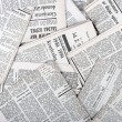 Background of old vintage newspapers - Stock Photo